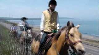 Horse Trail in Abashiri Hokkaido Japan Spring Ver. -No Name Ranch-