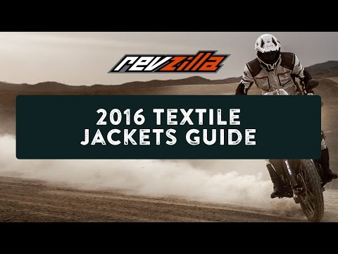 2016 Textile Motorcycle Jackets Buying Guide at RevZilla.com