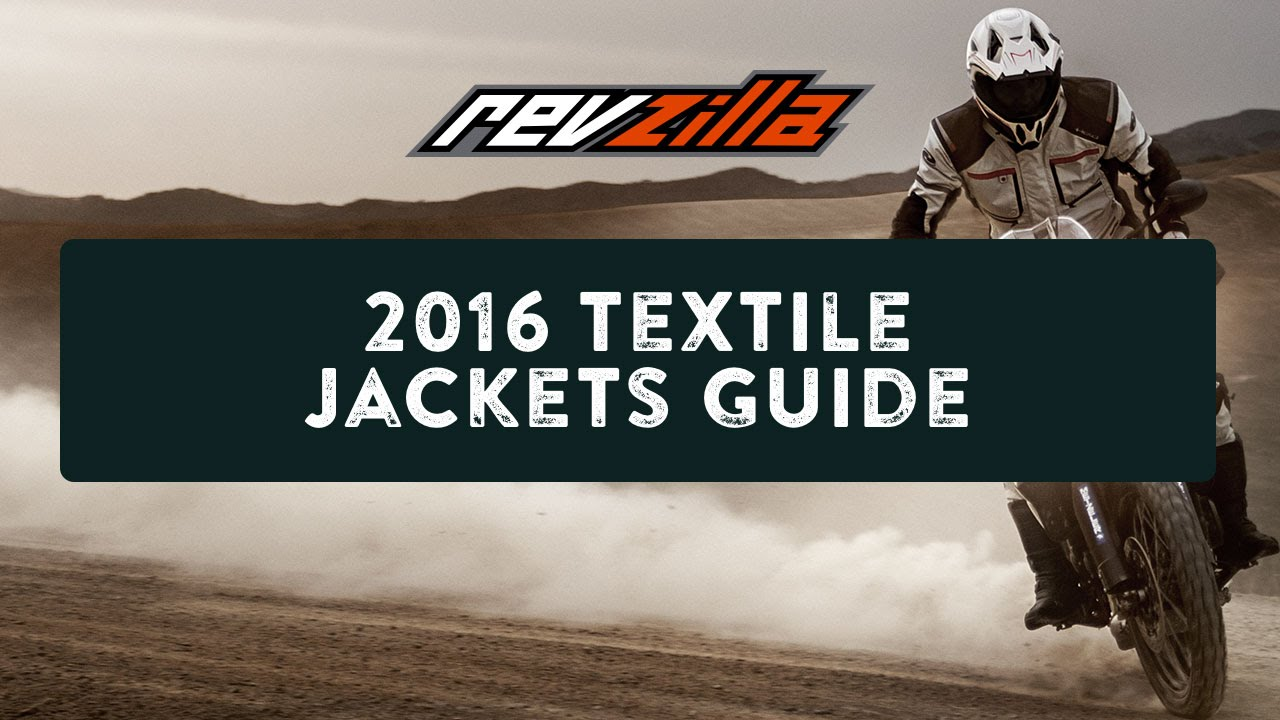 2016 Textile Motorcycle Jackets Buying Guide at RevZilla ...
