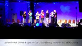 Sometimes it snows in april - Prince Cover (Bobby McFerrin and SLIXS)