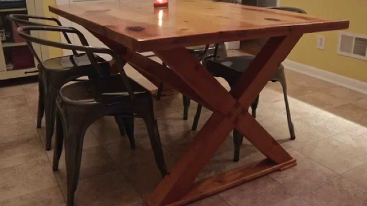 Puzzle Joint Farm Table