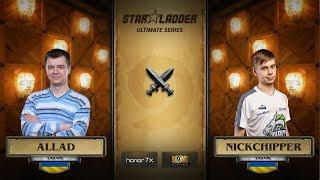 Allad vs NickChipper, 3rd place decider, StarLadder Hearthstone Ultimate Series