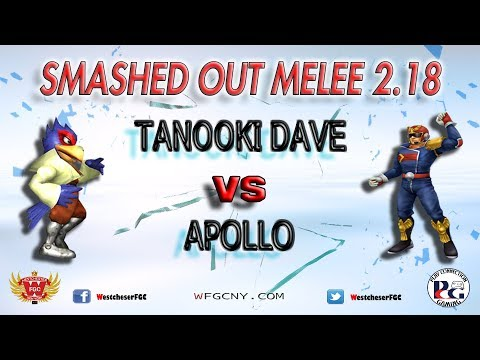 Smashed Out Melee V2.18 - Tanooki Dave Vs. Apollo - Winners Round 2