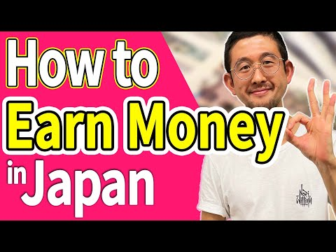 【Work information】Ways to earn money in Japan!