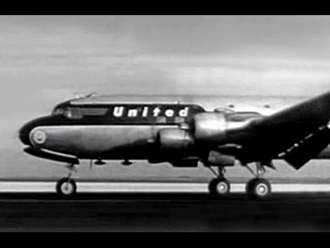 "United Douglas DC-6 - ""San Francisco & Honolulu"" - 1948"