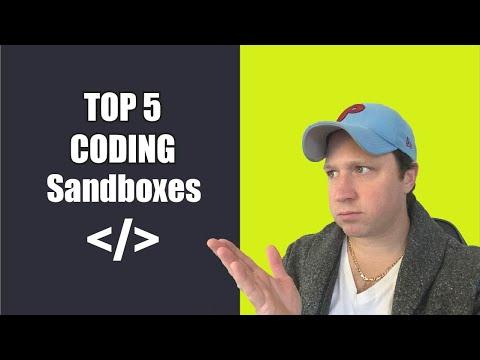 Top 5 Coding Sandbox Websites