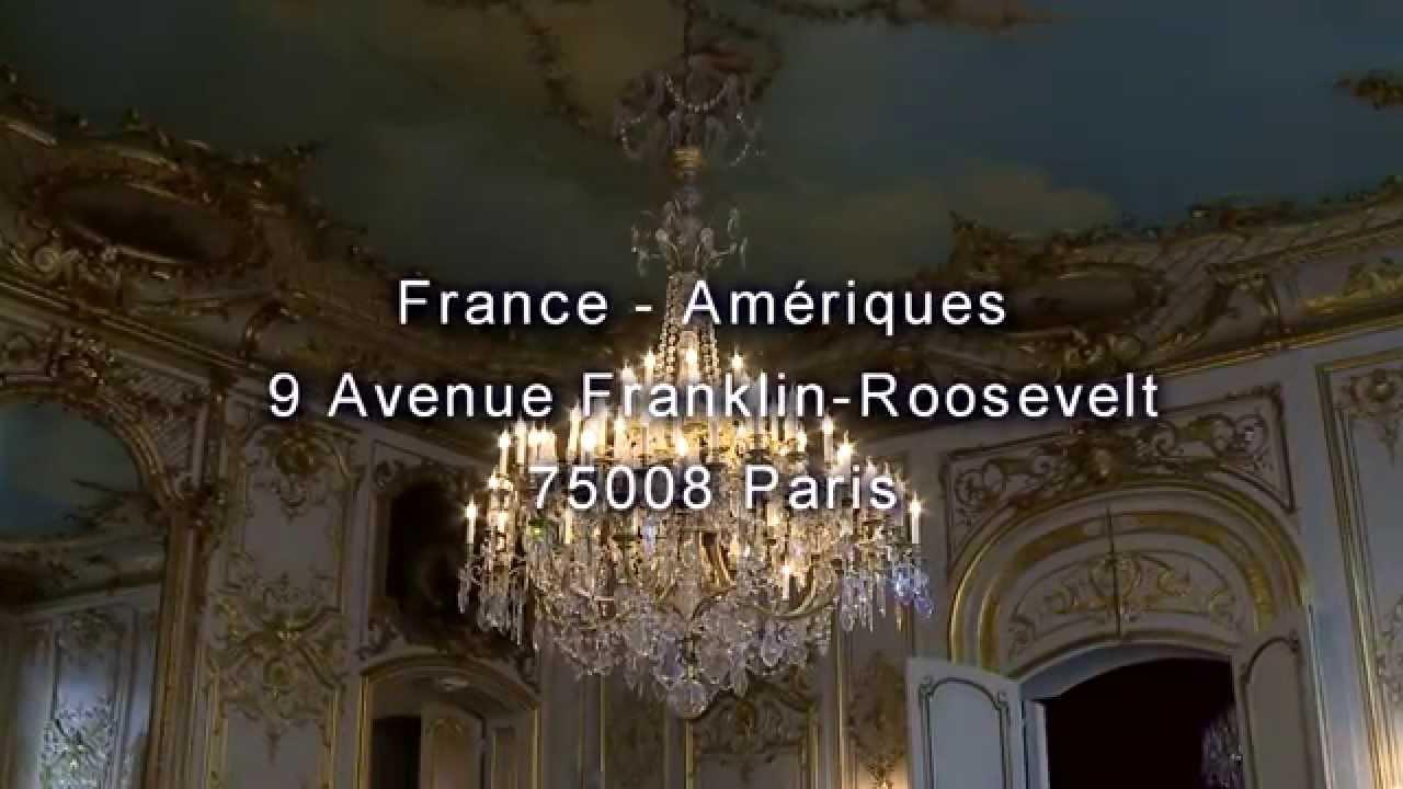 France am riques 9 avenue franklin roosevelt 75008 paris - Salons france ameriques ...