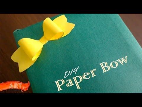 DIY : Paper Bow