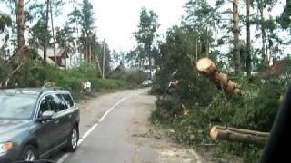 Сосново(Последствия урагана в Приозерском районе Ленинградской области., 2010-08-01T17:48:22.000Z)