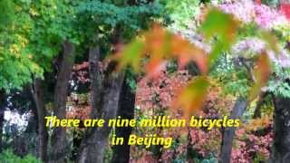 Katie Melua - Nine Million Bicycles + lyrics,,Maples 720P HD