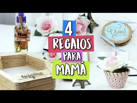 6 regalos f ciles y r pidos para darle a tu mam diy - Regalos faciles y rapidos ...