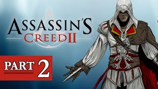 assassins creed 2 walkthrough part 2   leonardo da vinci ac2 lets play gameplay