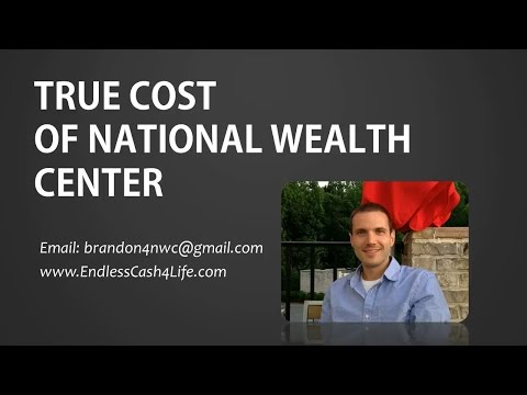 True Cost of Joining National Wealth Center