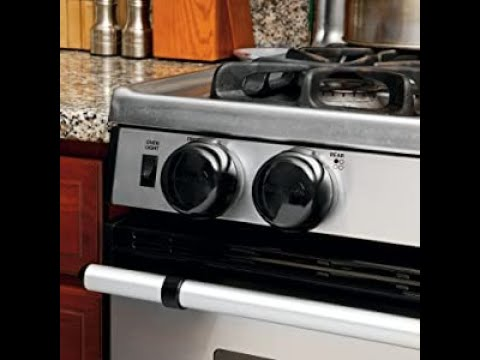 Gas Knob Covers,6-Packs Child Proof Stove Knob Safety Covers for Gas Stove,Universal Design