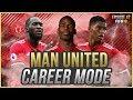 CHAMPIONS LEAGUE QUARTER FINALS VS CHELSEA | FIFA 18 Career Mode: Manchester United #47