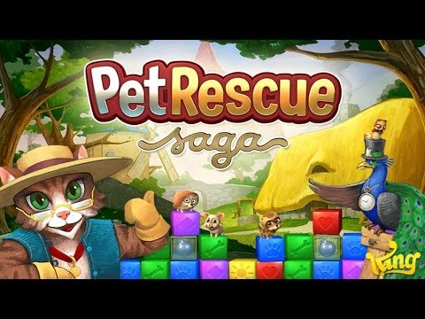 Pet Rescue Saga - Universal - HD Gameplay Trailer