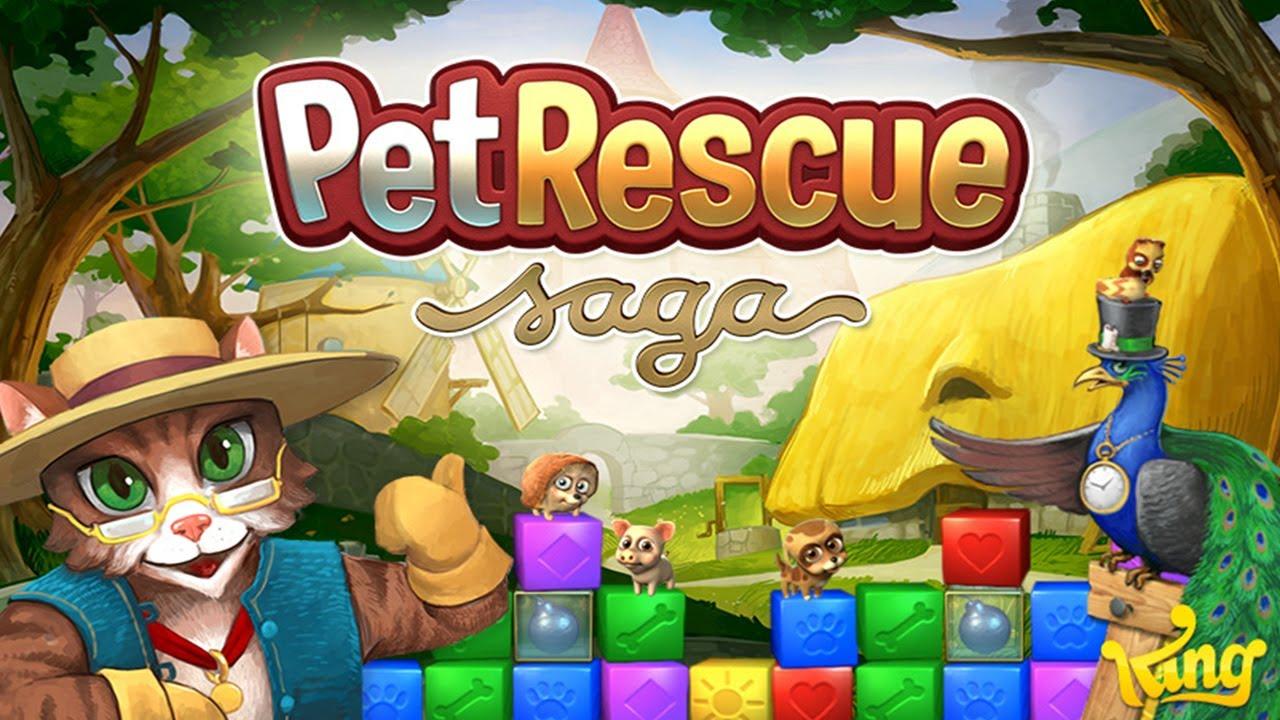 Resultado de imagem para Pet Rescue Saga