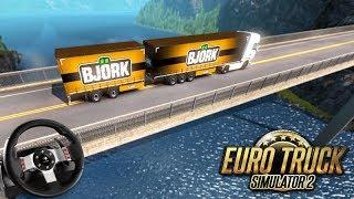 Euro Truck Simulator 2 - A VIAGEM MAIS PERIGOSA! (Carga PESADA)