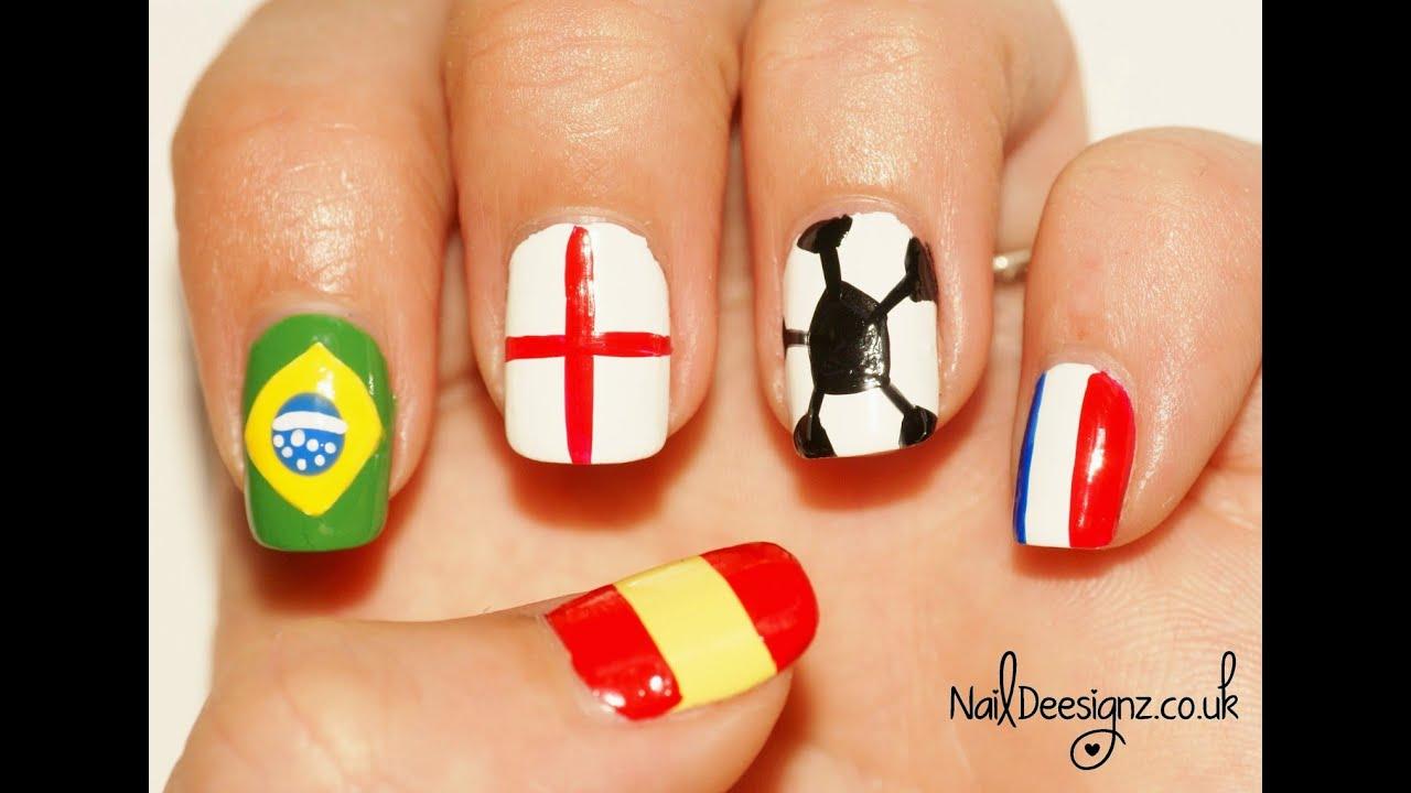 World Cup Nail Art