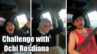 Challenge with Ochi Rosdiana!!