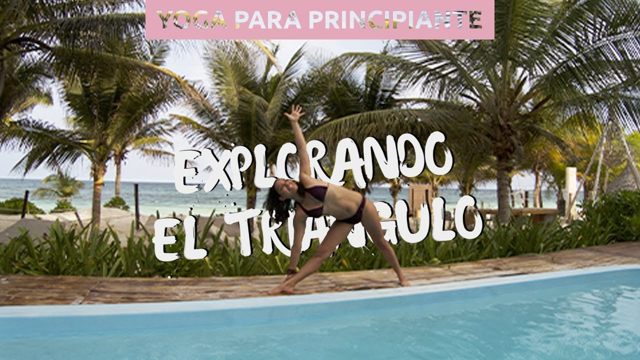 Rutina De Yoga Para Principiantes Postura Del Triangulo Yoga Con Kelly Youtube