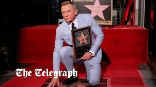 video: James Bond actor Daniel Craig honoured with Hollywood Walk of Fame star