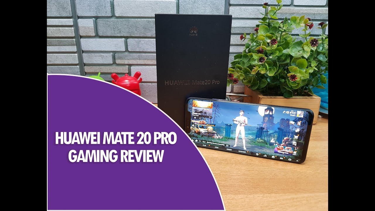 Huawei Mate 20 Pro Gaming With PUBG Ultra HDR- Heating And
