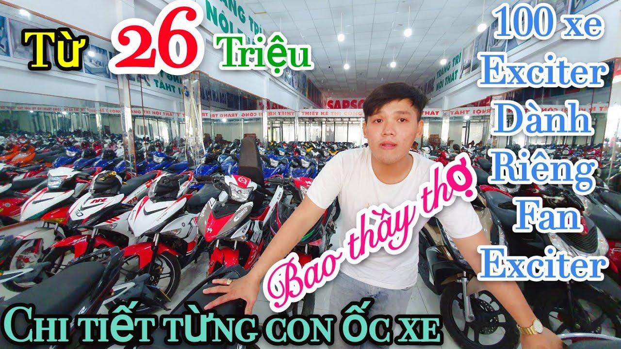 Giá Exciter 150 giảm mạnh từ 26 triệu 1 xe của Lão Đại xe cũ Sài Gòn -Xe máy Bùi Tân Tiến|Ngố Nguyễn