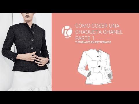 chaqueta-chanel-tutorial-1/4-|-patrón-|-aprender-a-coser