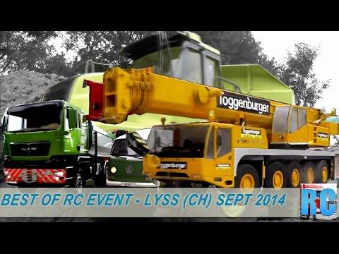BEST OF RC TRUCKS MEGA EVENT - MINI TRUCK DRIVER FESTIVAL LYSS, SWITZERLAND, SEPT 2014