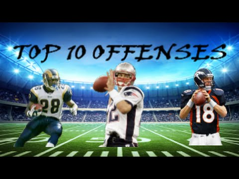 Top 10 Offenses In NFL History