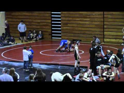MCHS Wrestling - Wayne County Duals - Jordan vs Anderson