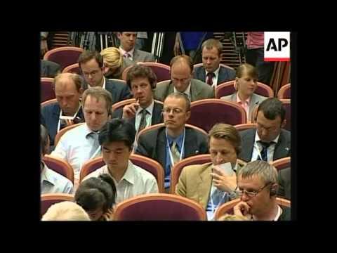 Russia EU summit, Putin, Merkel, Barroso, Kasparov soundbite