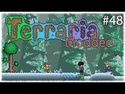 Terraria Modded =Ep 48= Space Invasion!