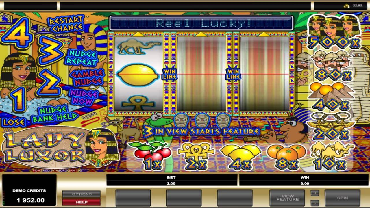 Luxor Slot Machines