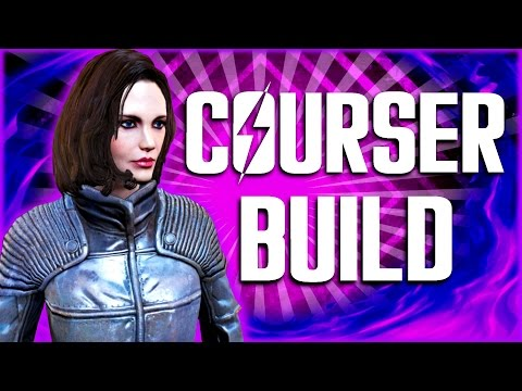 Fallout 4 Builds - The Courser - Institute Agent Build