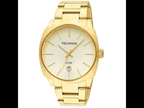 0500c5c8dd Relógio Feminino Technos 2115RK 4X Elegance Dress Analógico Dourado ...