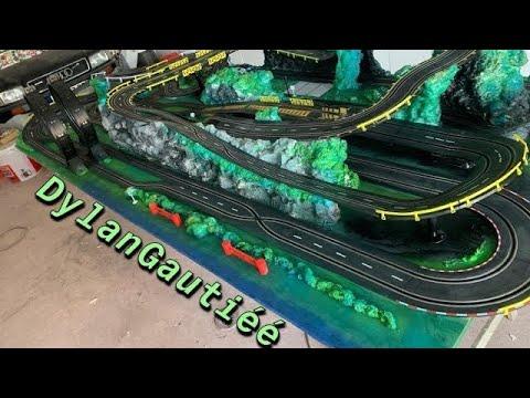 Création circuit voiture électrique RC Slot racing