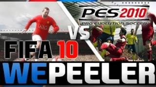 Fifa 10 Vs Pes 2010 Comparison  Hd