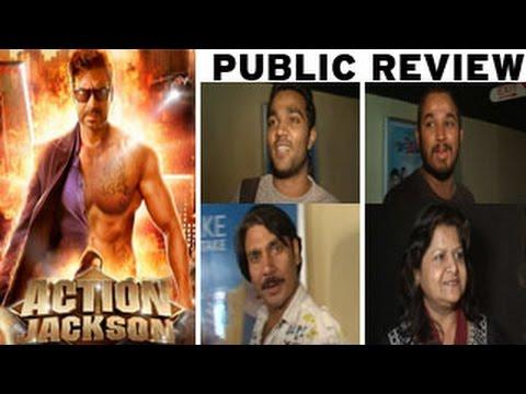 Action Jackson PUBLIC REVIEW | Ajay Devgn, Sonakshi Sinha, Prabhudeva