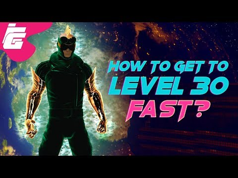 DCUO How to get to level 30 fast? (Difficulty Level: Potato)