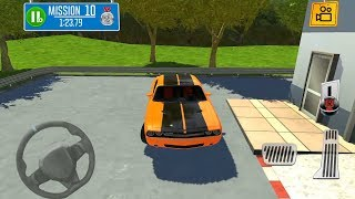 Multi Floor Garage Driver Mission 1-10 Gameplay