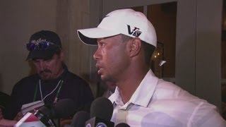Tiger Woods and Sergio Garcia in War of Words