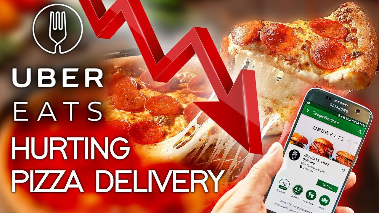 Is UberEATS Hurting Pizza Delivery Sales ?