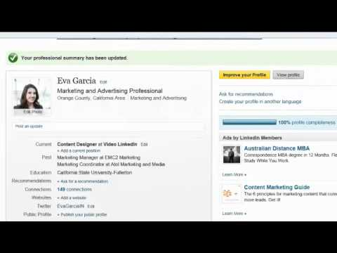 Linkedin Training- How to make your Linked In profile more