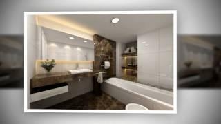 видео Интерьер ванной комнаты в светлых тонах
