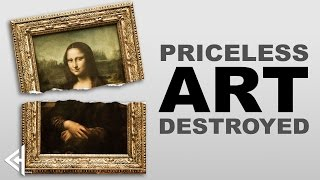 Cool History - 5 Priceless Artworks Ruined (by idiots) | Cool History thumbnail