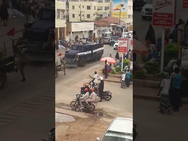 Vikosi vya Jeshi la polisi mkoani Mwanza Vinafanya Mazoezi ya utayari.