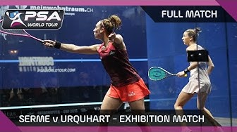Squash: Serme v Urquhart - Exhibition Match, Zürich - FULL MATCH