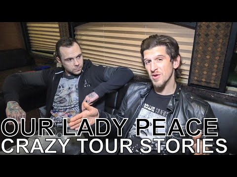 Our Lady Peace - CRAZY TOUR STORIES Ep. 604